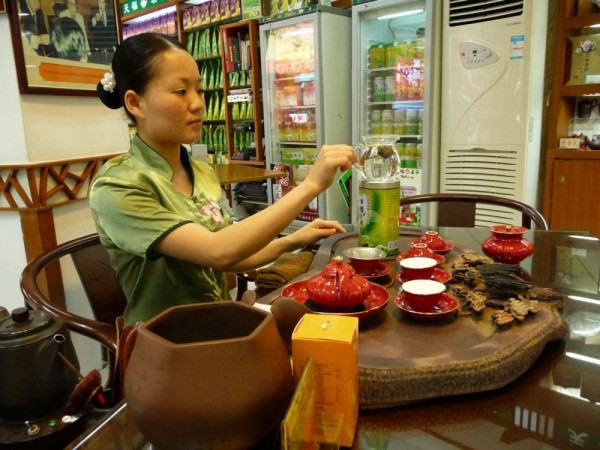 Tea shop in Zhuhai